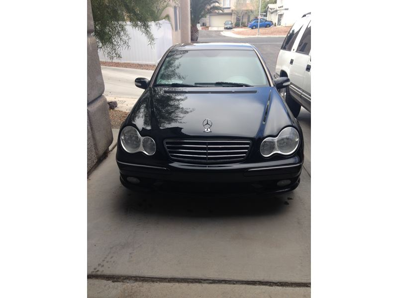 2006 mercedes benz c class c230 sport by owner north las for Mercedes benz for sale las vegas