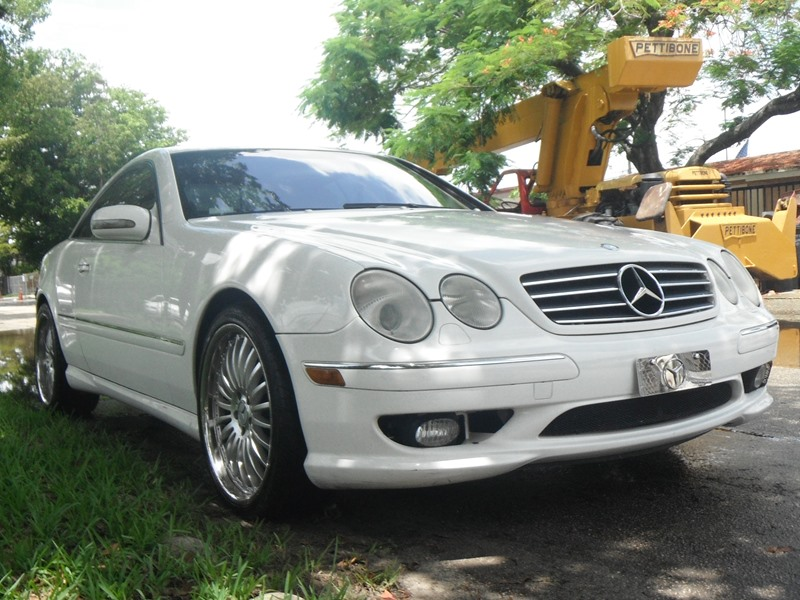 2002 mercedes benz cl 500 sale by owner in hollywood fl 33023 for Mercedes benz hollywood