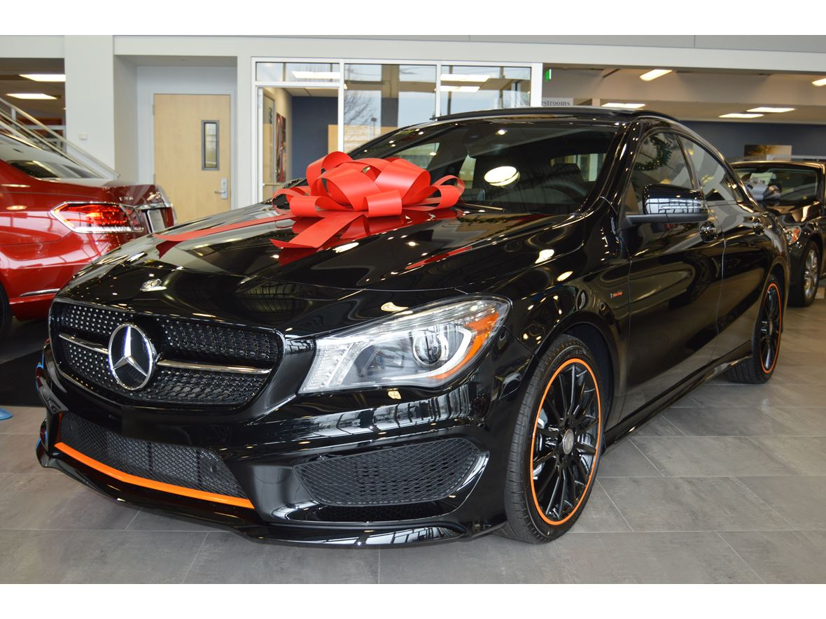 2016 mercedes benz cla250 orange edition by owner for Mercedes benz dealers in orange county