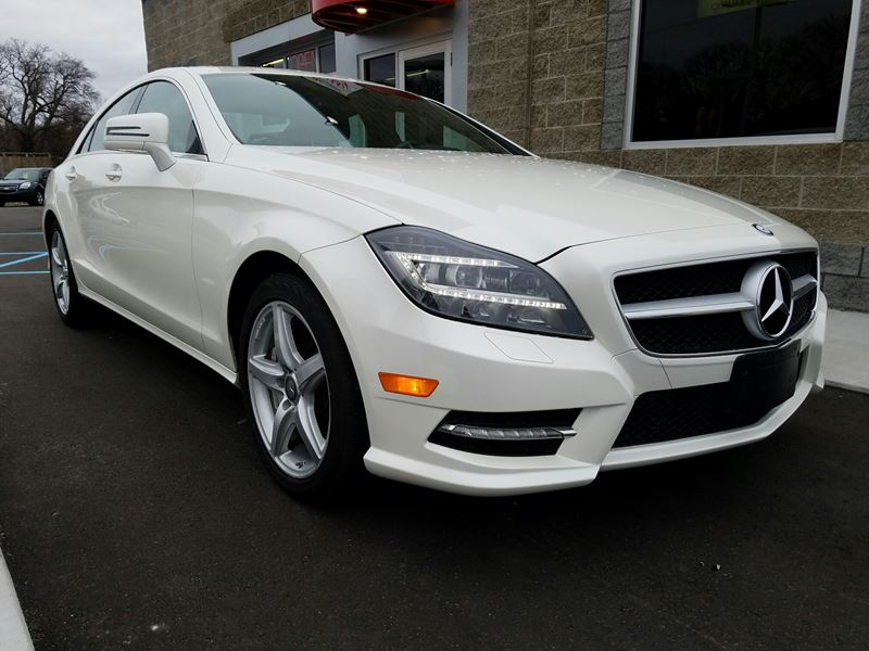 2014 mercedes benz cls class sale by owner in muskegon mi