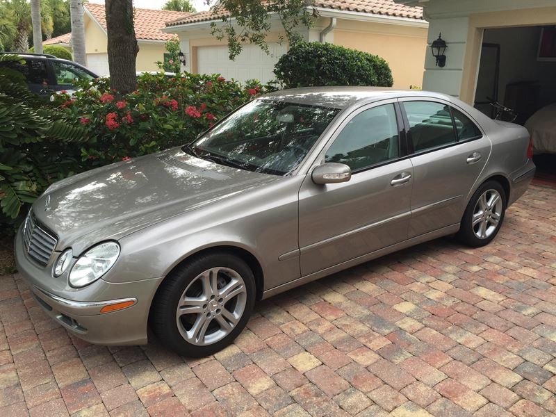 2006 mercedes benz e 350 private car sale in sarasota