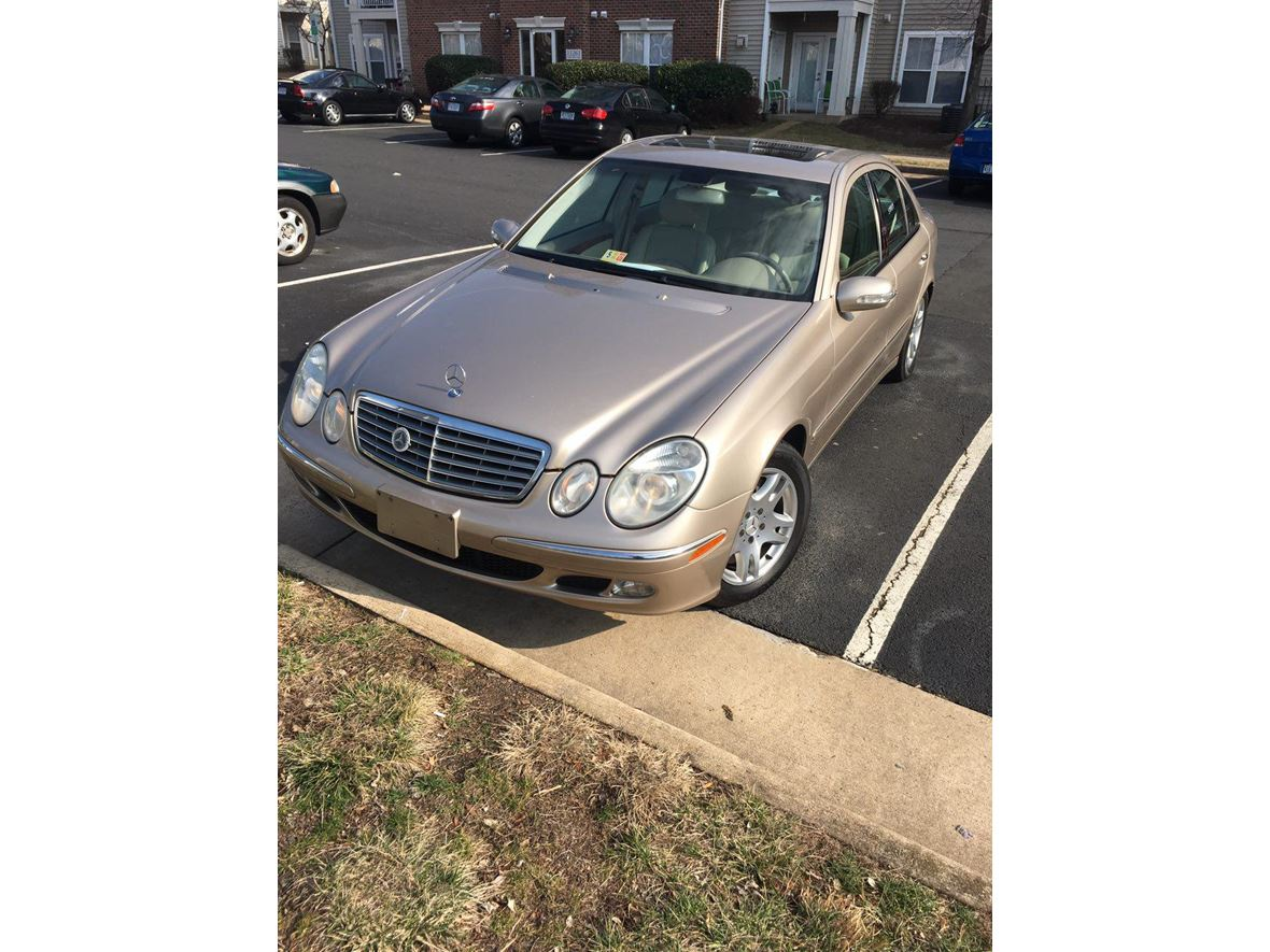 2003 Mercedes-Benz E-Class for sale by owner in Manassas