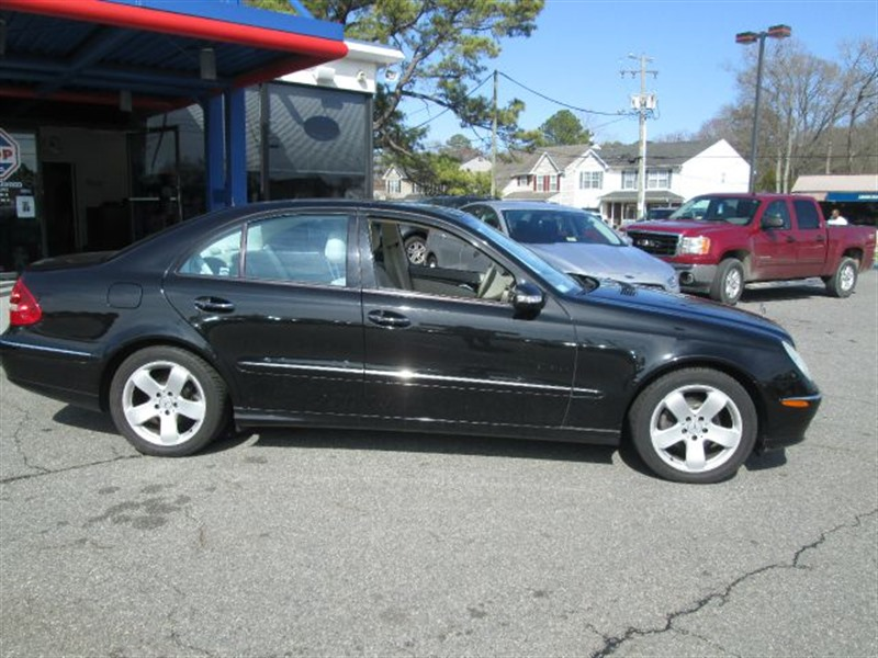2004 mercedes benz e class for sale by owner in norfolk va 23529. Black Bedroom Furniture Sets. Home Design Ideas