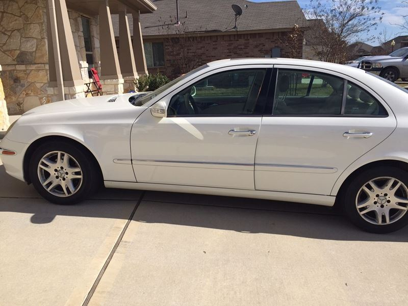 2005 Mercedes Benz E Class For Sale By Owner In Austin Tx