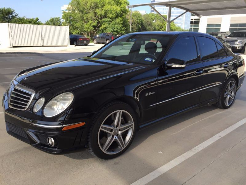 2007 mercedes benz e class for sale by owner in gail tx