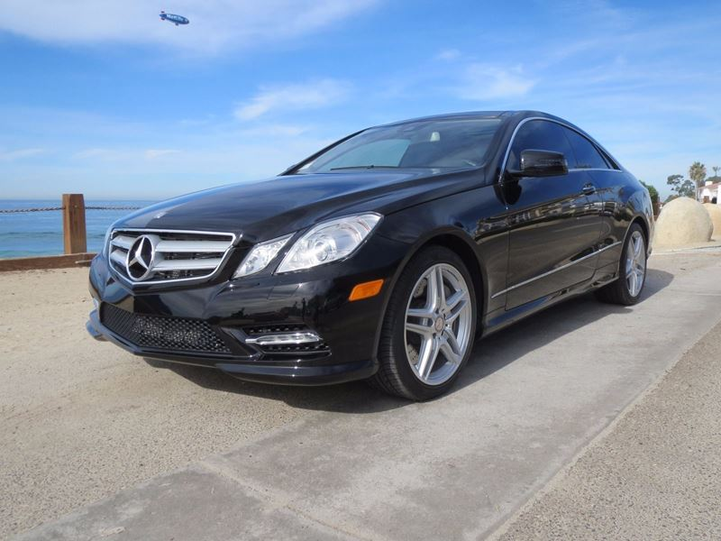 2013 Mercedes Benz E55 Amg Sale By Owner In La Jolla Ca 92093