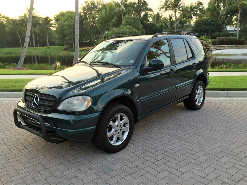 1999 mercedes benz m class for sale by private owner in for Mercedes benz bonita springs fl