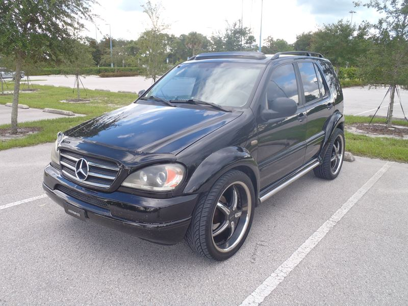 2000 mercedes benz m class for sale by owner in orlando