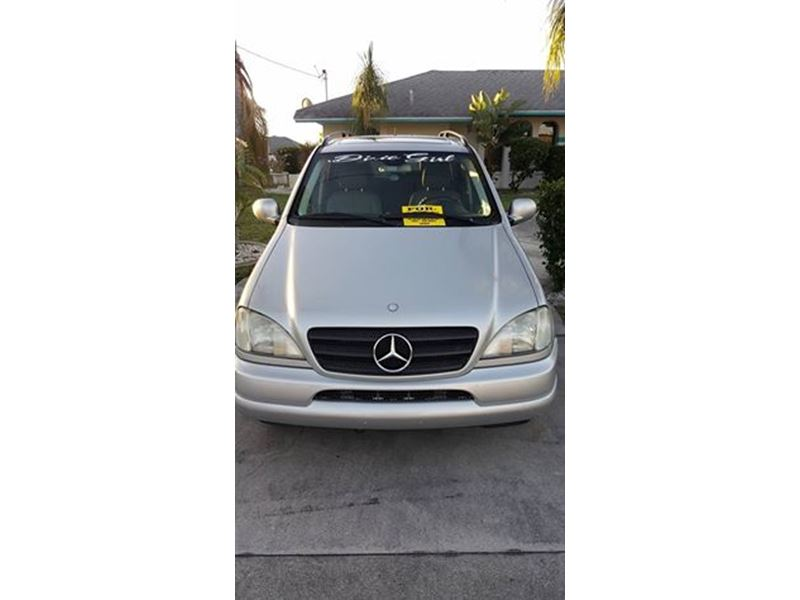2001 mercedes benz m class sale by owner in cape coral fl for Mercedes benz for sale by owner in florida