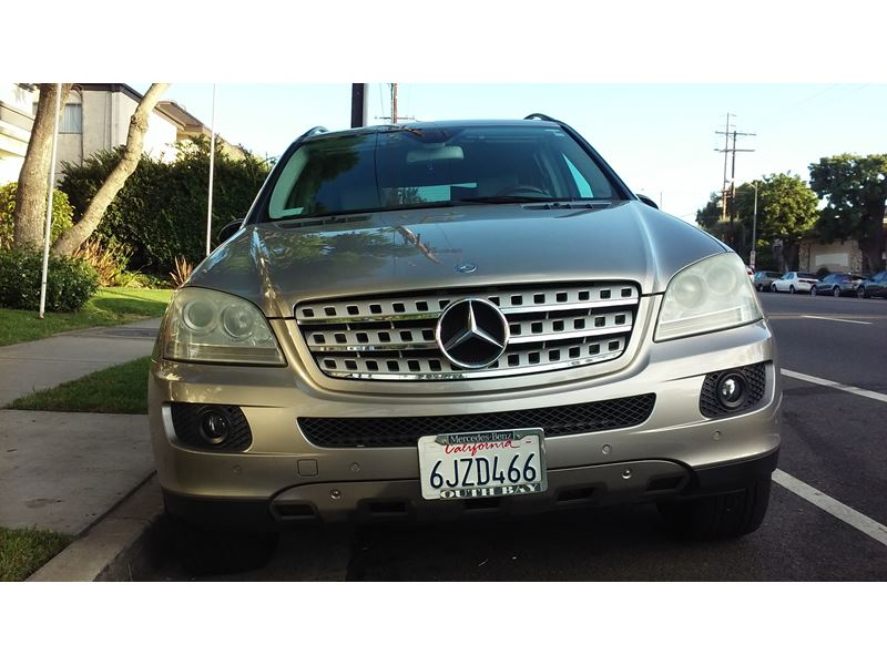 2006 mercedes benz m class for sale by owner in encino ca for Used mercedes benz for sale in california