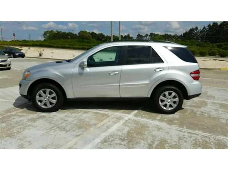 2006 mercedes benz m class ml 350 by owner lawrenceville for Mercedes benz used car locator
