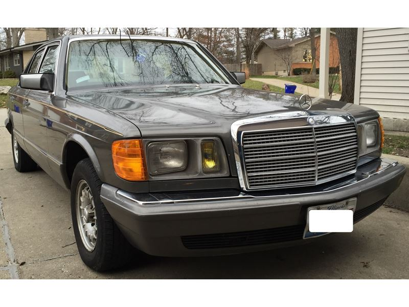 1983 mercedes benz s class classic car by owner in for Mercedes benz for sale by owner in florida