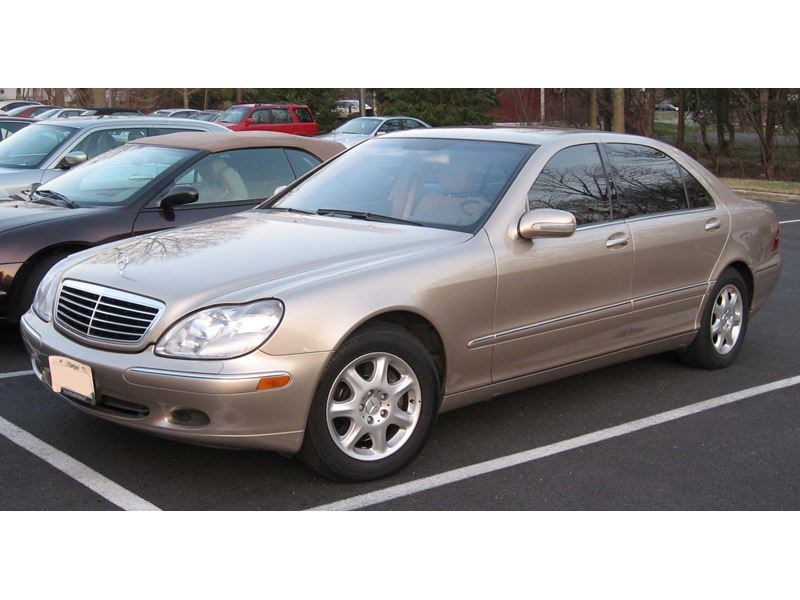 2002 mercedes benz s class sale by owner in port richey for Mercedes benz 2002 s500 for sale