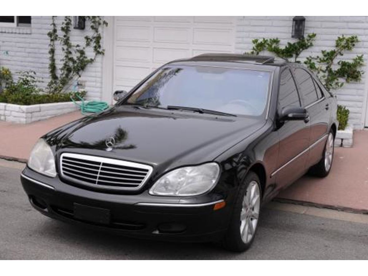 2002 mercedes benz s class for sale by owner in phoenix az 85001. Black Bedroom Furniture Sets. Home Design Ideas