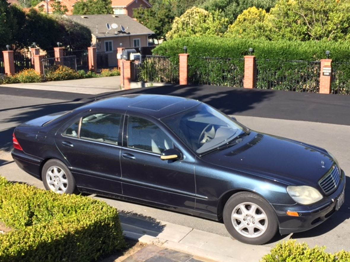 2002 mercedes benz s class sale by owner in cupertino ca