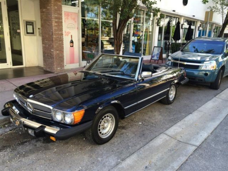 1979 mercedes benz sl class classic car crystal for Mercedes benz for sale by owner in florida