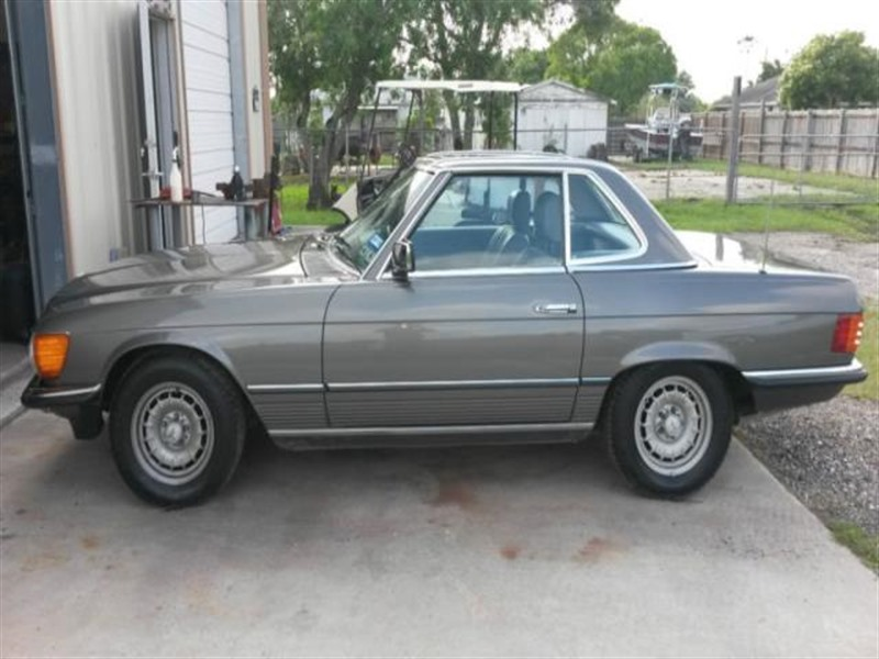 1985 mercedes benz sl class classic car austin tx 78747 for Mercedes benz for sale in texas