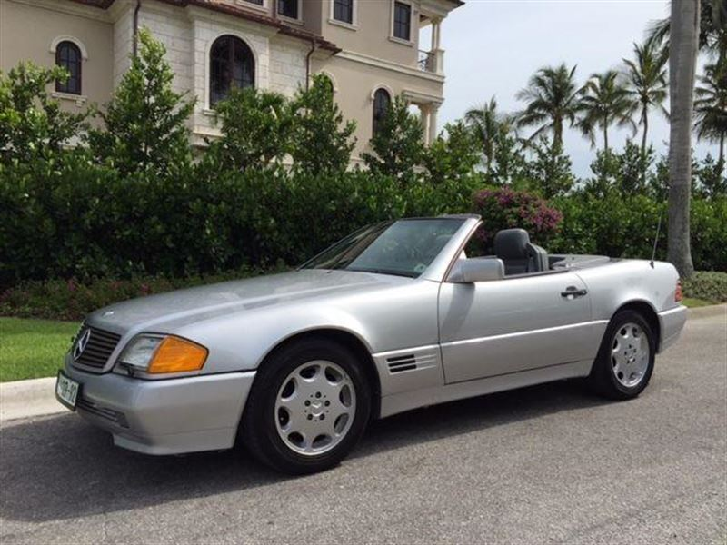 1992 mercedes benz sl class classic car saint for Mercedes benz for sale by owner in florida