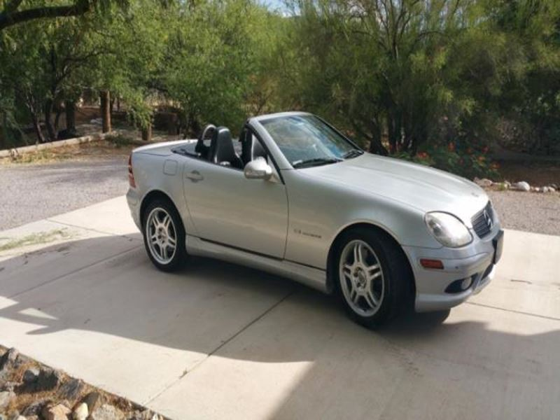 2002 mercedes benz slk class by owner in dolan springs az for Mercedes benz used car locator