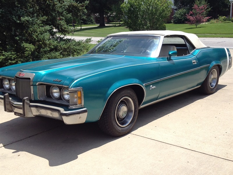 1973 mercury cougar xr7 antique car indianapolis in 46291. Black Bedroom Furniture Sets. Home Design Ideas