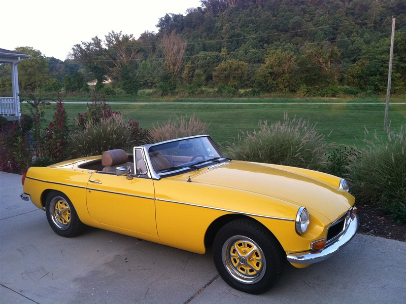 1974 mg mgb classic car louisville ky 40272. Black Bedroom Furniture Sets. Home Design Ideas