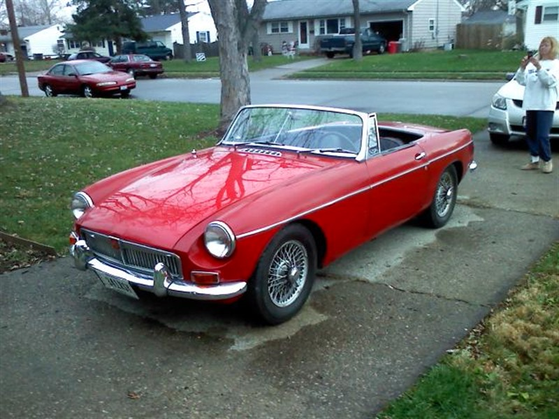 1965 mg b roadster classic car by owner in trenton oh 45067 for B b for sale by owner