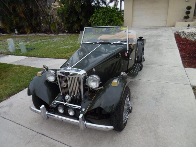 1952 mg td classic car for sale by owner in naples fl 34120. Black Bedroom Furniture Sets. Home Design Ideas