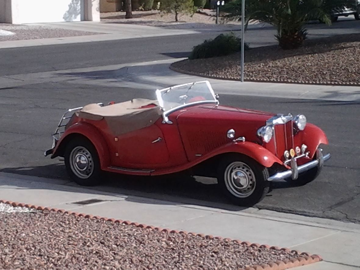 1952 MG TD for sale by owner in Las Vegas