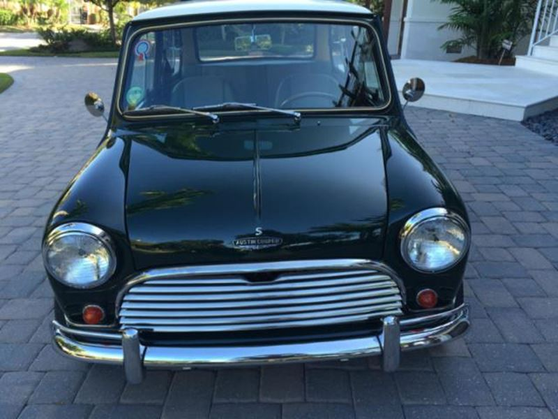 1966 mini cooper antique car tampa fl 33694. Black Bedroom Furniture Sets. Home Design Ideas