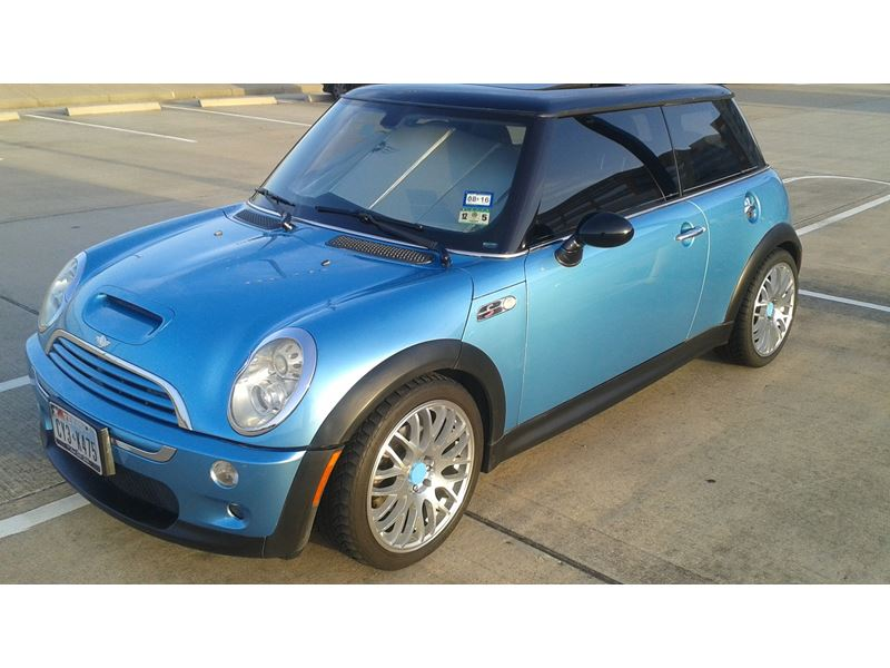 2005 mini cooper s for sale by owner in houston tx 77299. Black Bedroom Furniture Sets. Home Design Ideas