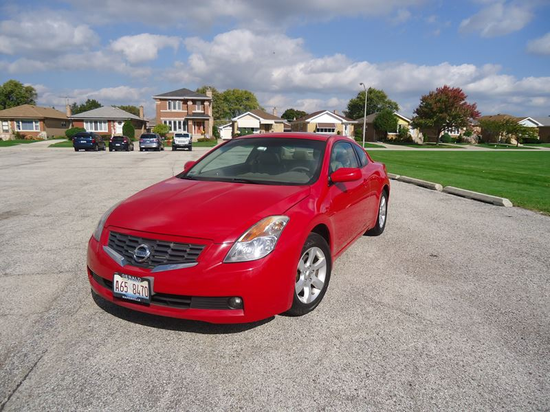 2008 nissan altima for sale by owner in harwood heights il 60706. Black Bedroom Furniture Sets. Home Design Ideas
