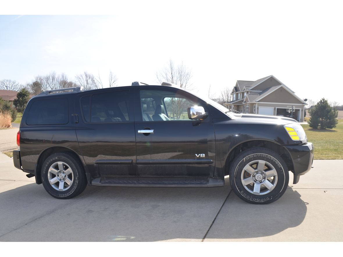 2007 nissan armada for sale by owner in madison wi 53794. Black Bedroom Furniture Sets. Home Design Ideas