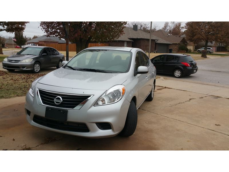 2014 nissan versa for sale by owner in bethany ok 73008. Black Bedroom Furniture Sets. Home Design Ideas