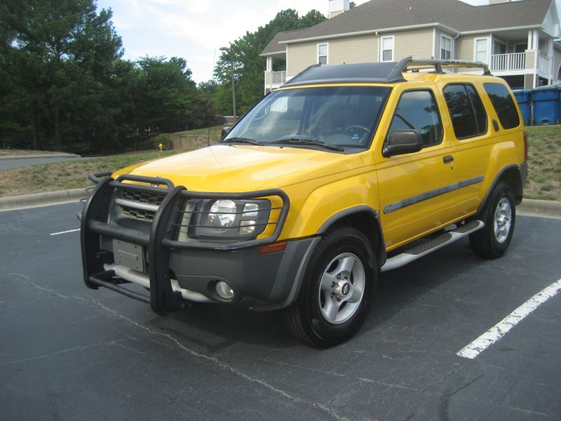 2002 nissan xterra for sale by owner in charlotte nc 28299. Black Bedroom Furniture Sets. Home Design Ideas