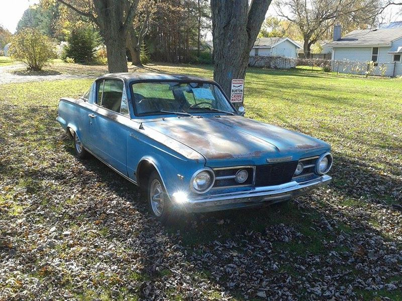 1965 plymouth barracuda antique car flint mi 48557. Black Bedroom Furniture Sets. Home Design Ideas