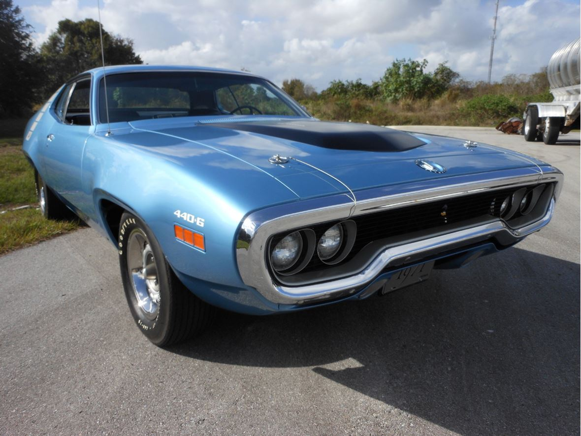 1971 Plymouth Road Runner Antique Car Chicago IL