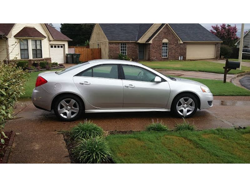 used 2010 pontiac g 6 for sale by owner in memphis tn 38193. Black Bedroom Furniture Sets. Home Design Ideas