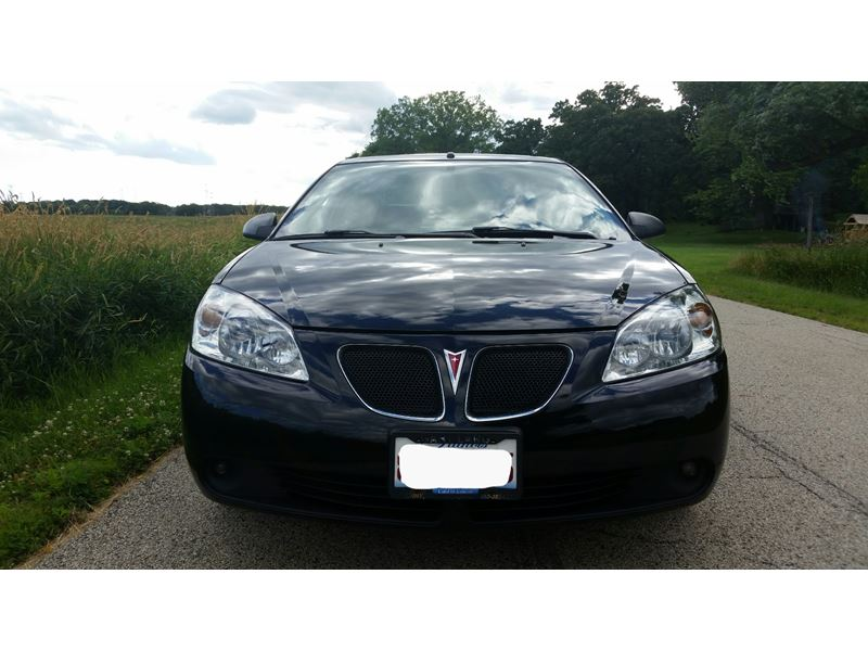 used 2006 pontiac g6 for sale by owner in mchenry il 60051. Black Bedroom Furniture Sets. Home Design Ideas