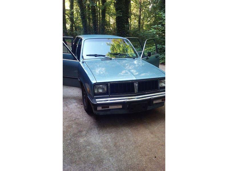 1986 pontiac t 1000 classic car dallas ga 30157. Black Bedroom Furniture Sets. Home Design Ideas