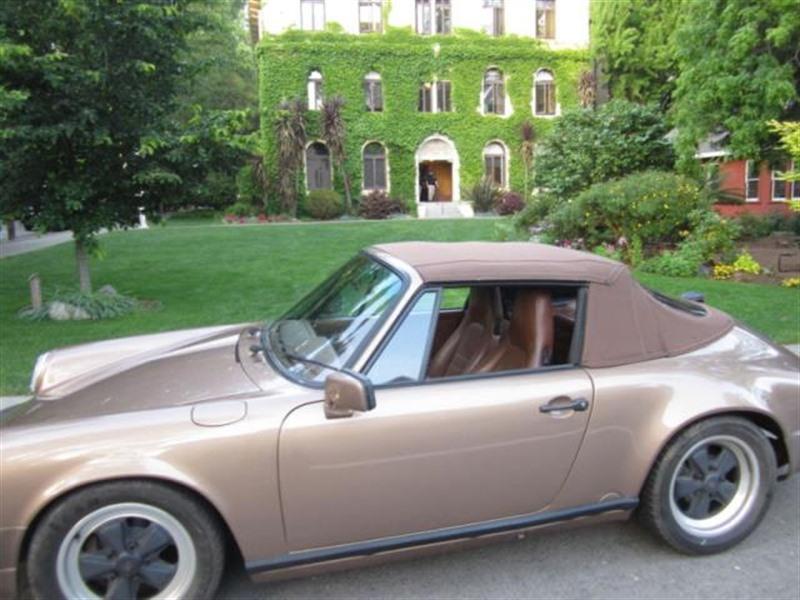 1988 porsche 911 classic car san francisco ca 94143. Black Bedroom Furniture Sets. Home Design Ideas