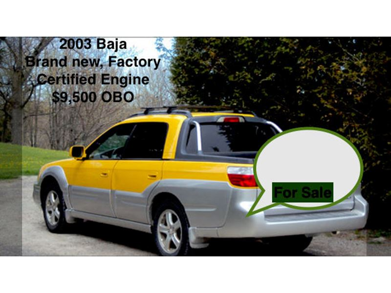 2003 subaru baja for sale by owner in boise id 83706. Black Bedroom Furniture Sets. Home Design Ideas