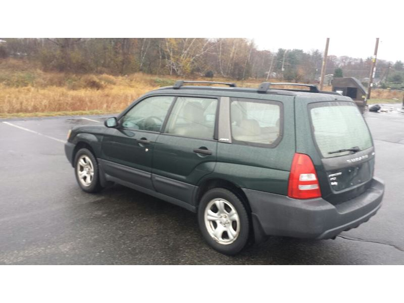 2003 subaru forester for sale by private owner in burlington ma 01805. Black Bedroom Furniture Sets. Home Design Ideas