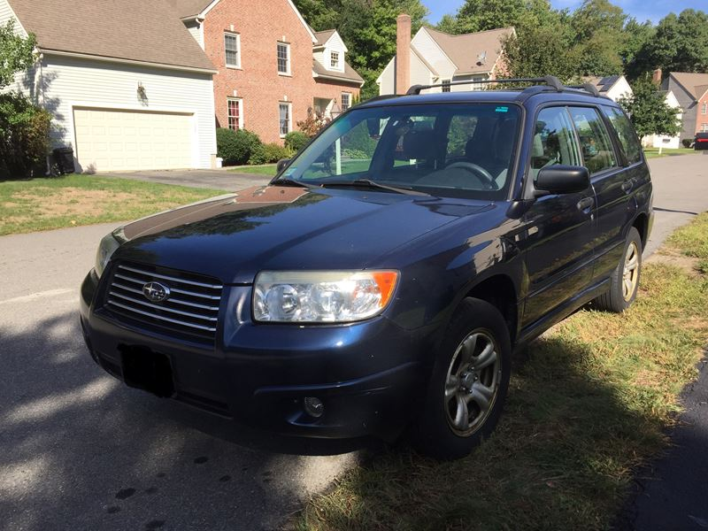 2006 subaru forester for sale by owner in north andover ma 01845. Black Bedroom Furniture Sets. Home Design Ideas