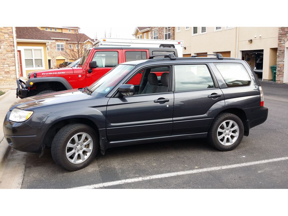 used 2008 subaru forester for sale by owner in evans co 80620. Black Bedroom Furniture Sets. Home Design Ideas