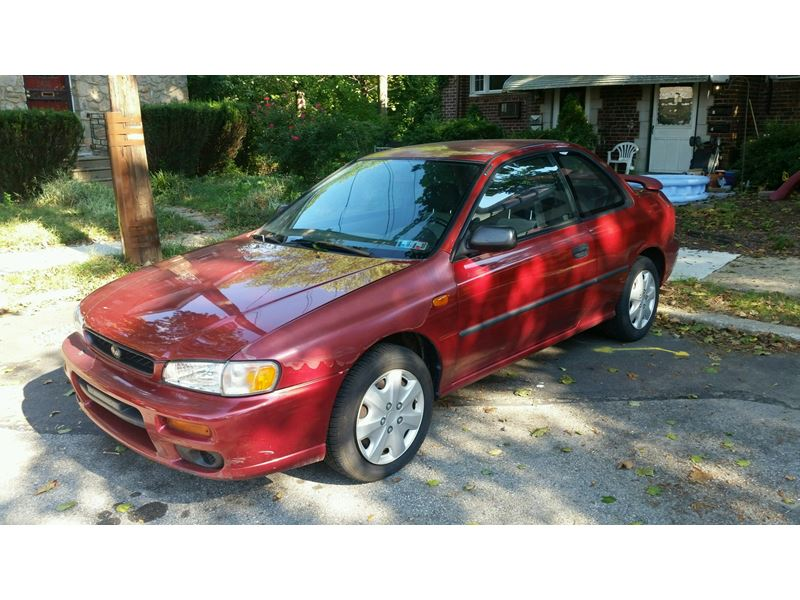2000 subaru impreza for sale by owner in philadelphia pa 19197. Black Bedroom Furniture Sets. Home Design Ideas
