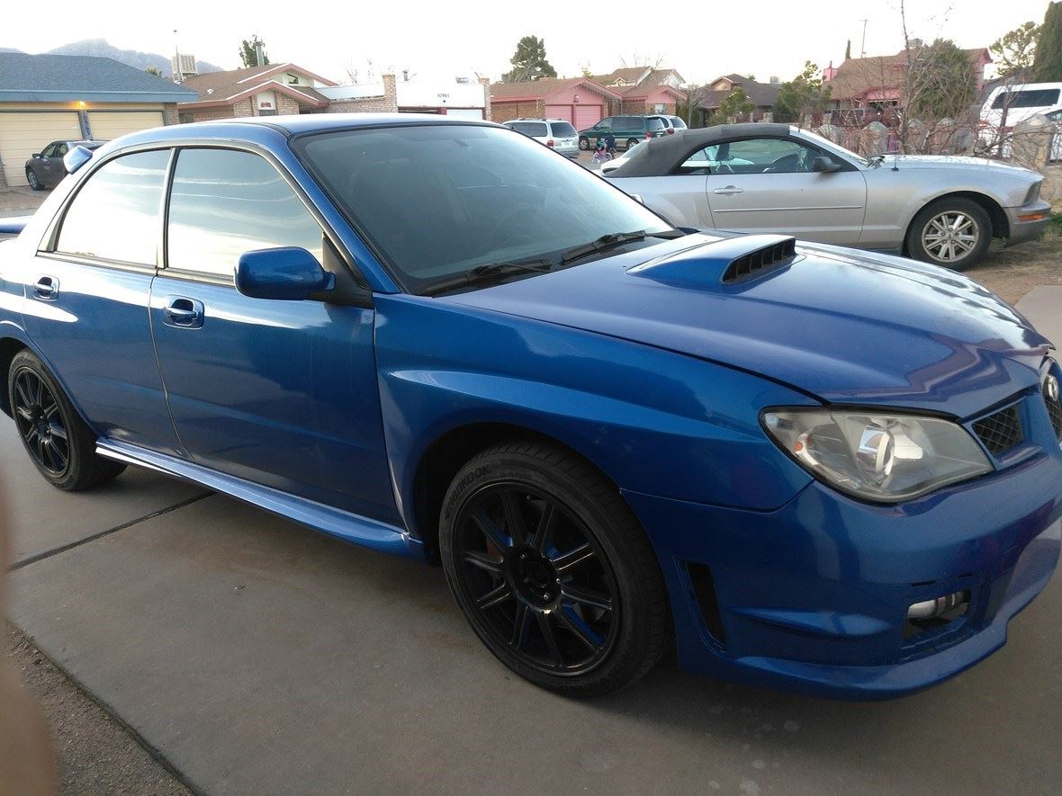 2006 Subaru Impreza Wrx Sti Sale By Owner In El Paso Tx 88595