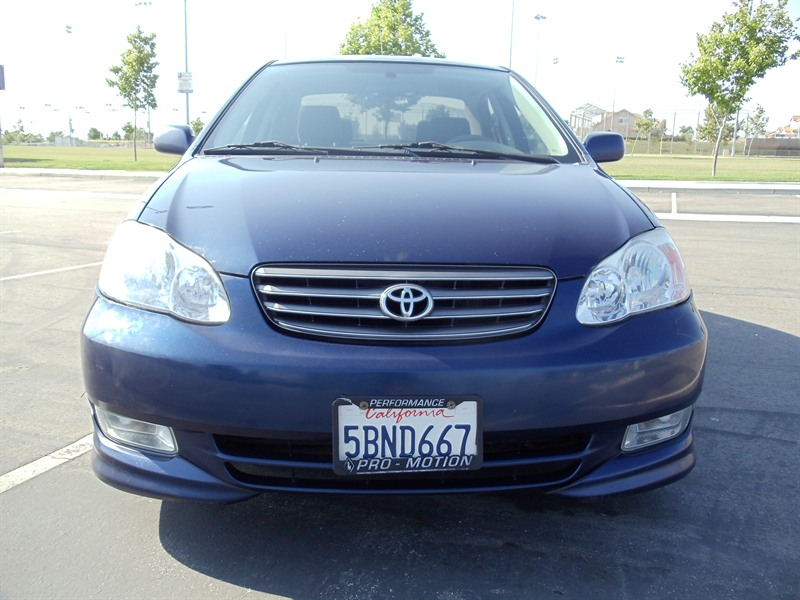 2003 toyota corolla sport for sale by owner in perris ca 92570. Black Bedroom Furniture Sets. Home Design Ideas
