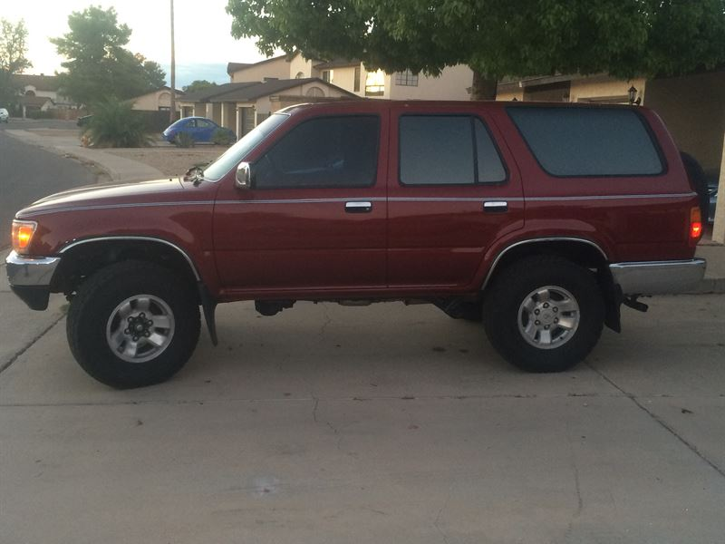 1990 toyota 4runner classic car by owner in avondale az for 1990 toyota 4runner rear window motor