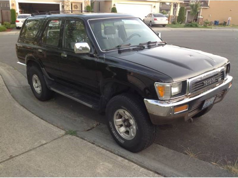 1990 toyota 4runner classic car kent wa 98089. Black Bedroom Furniture Sets. Home Design Ideas