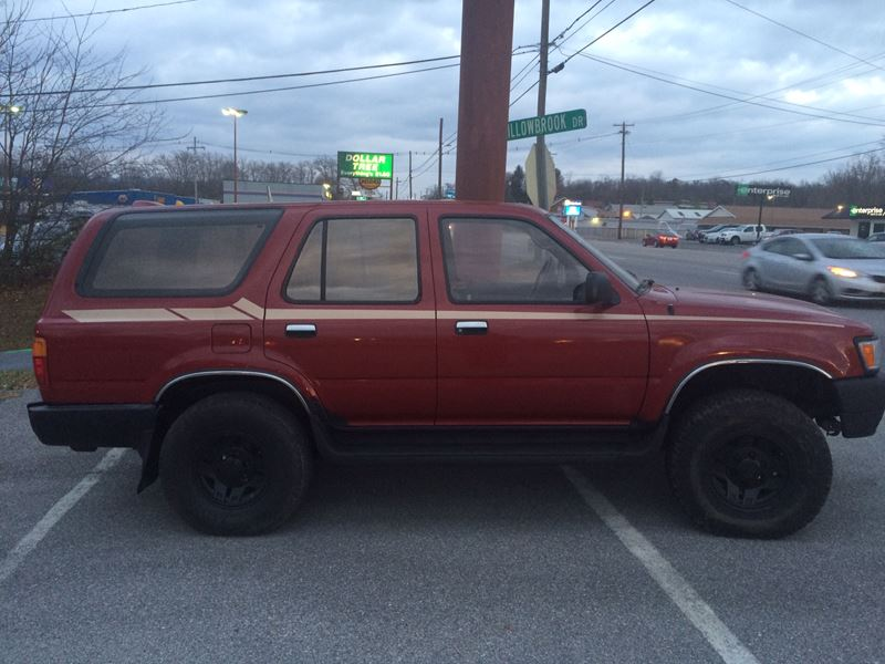 used 1995 toyota 4runner for sale by owner in chambersburg pa 17202. Black Bedroom Furniture Sets. Home Design Ideas